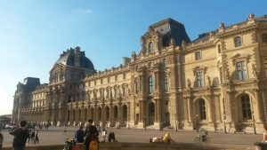 May 8, 2017 in Paris: Louvre Museum.
