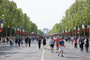 Bastille Day July 14th in Paris Center - Where to sleep ?