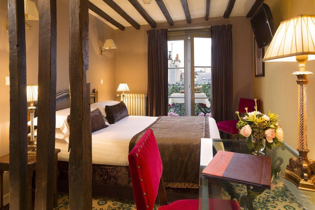 Chambre double hotel des 2 Continents Paris
