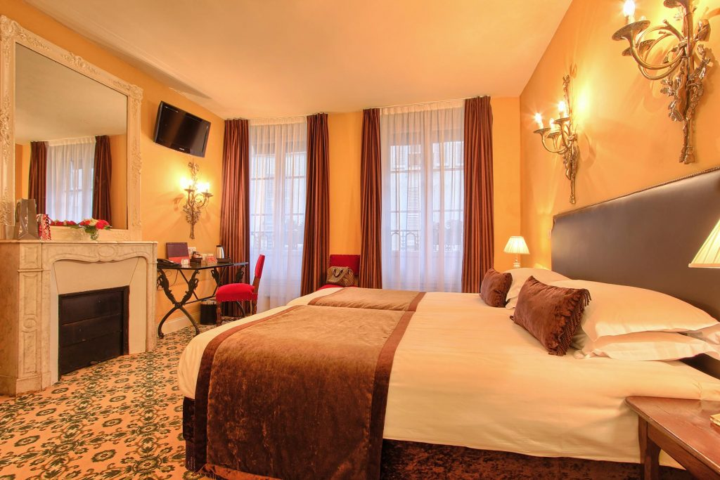 Chambre twin hotel des 2 Continents Paris