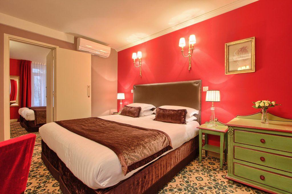 Chambres communicantes hotel des 2 Continents Paris