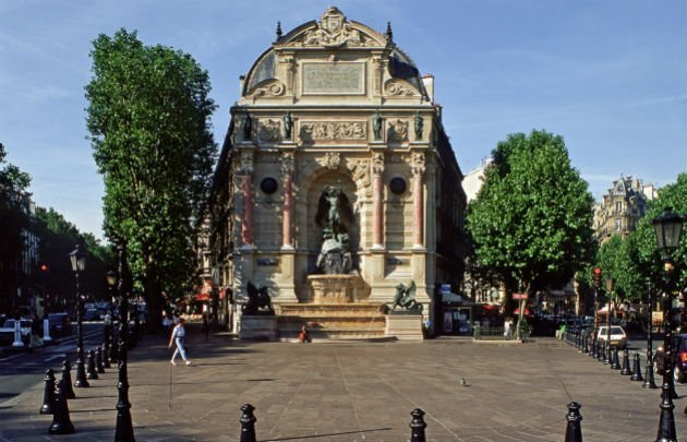fontaine st michel