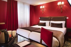 Good plan for hotel room in Paris City Center