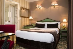 How much does it cost to stay in a hotel tonight in Paris?